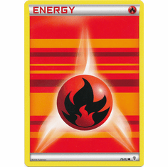 Fire Energy 76/83 Common - Pokemon Generations Card