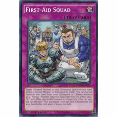 First-Aid Squad DOCS-EN080 Common - Dimension Of Chaos Card