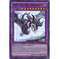 First of the Dragons NECH-EN050 - Super Rare Card