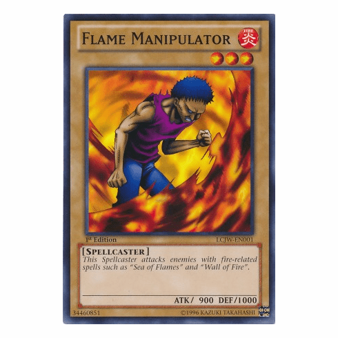 Flame Manipulator LCJW-EN001 - YuGiOh Joey's World Common Card