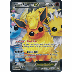Flareon EX RC28/RC32 Ultra Rare - Pokemon Generations Card