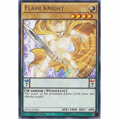 Flash Knight DUEA-EN001 - Duelist Alliance RARE Duelist Alliance Card