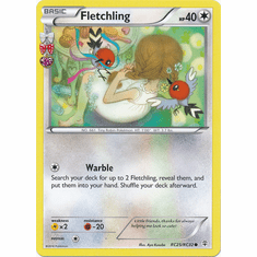 Fletchling RC25/RC32 Common - Pokemon Generations Card