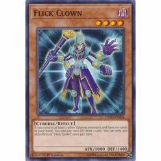 Flick Clown EXFO-EN004 Common - YuGiOh Extreme Force
