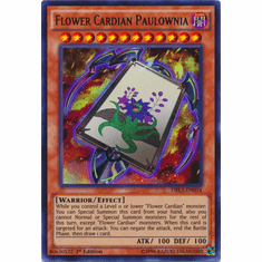 Flower Cardian Paulownia with Phoenix DRL3-EN038 Ultra Rare - YuGiOh Dragons of Legend Unleashed Card