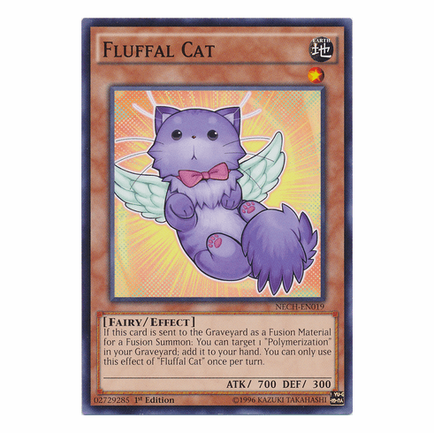 Fluffal Cat NECH-EN019 - Common The New Challengers Card