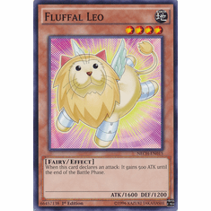 Fluffal Leo NECH-EN015 - Common The New Challengers Card