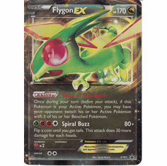 Flygon EX XY61 - Jumbo Pokemon Ultra Rare Card