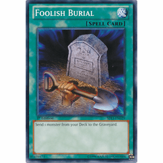 Foolish Burial SDLI-EN029 - YuGiOh Realm Of Light Common Card