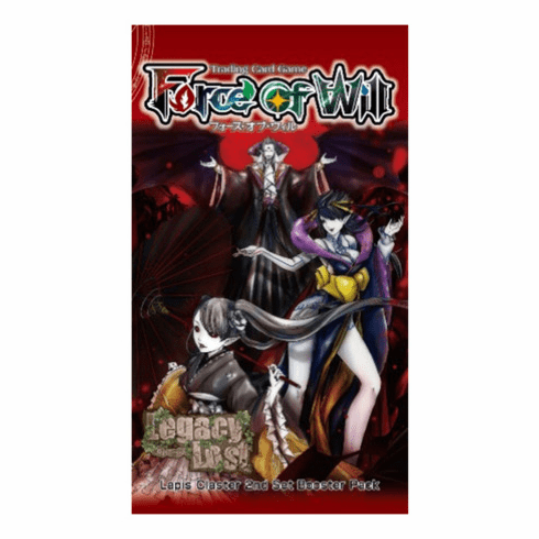 Force Of Will Legacy Lost Booster Pack