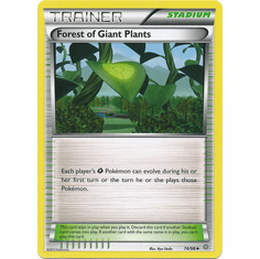 Forest of Giant Plants 74/98 UNCOMMON - Pokemon XY Ancient Origins Card