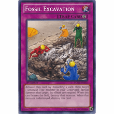 Fossil Excavation LCJW-EN165 - YuGiOh Joey's World Common Card
