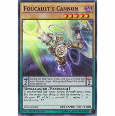 Foucaults Cannon DUEA-EN002 - Duelist Alliance SUPER RARE Duelist Alliance