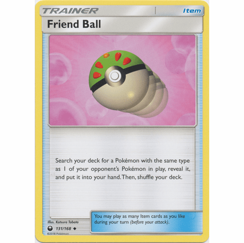 Friend Ball 131/168 Uncommon - Celestial Storm SM7 Pokemon Card