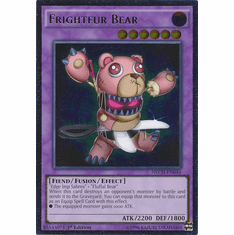 Frightfur Bear NECH-EN046 - Rare The New Challengers Card