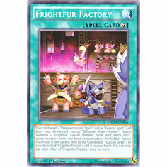 Frightfur Factory CROS-EN054 Common - YuGiOh Crossed Souls Card