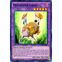 Frightfur Sheep CROS-EN042 Super Rare - YuGiOh Crossed Souls Card