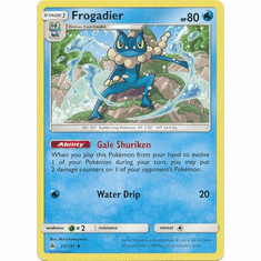 Frogadier 23/131 Uncommon - Pokemon Sun & Moon Forbidden Light Card