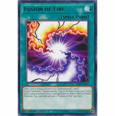 Fusion of Fire YuGiOh � Savage Strike Rare