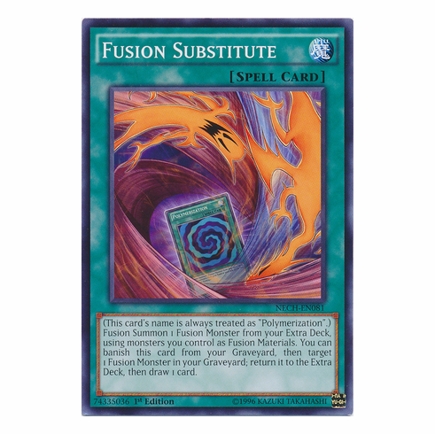 Fusion Substitute NECH-EN081 - Common The New Challengers Card