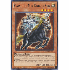 Gaia, the Mid-Knight Sun DUEA-EN091 - Common Duelist Alliance Card