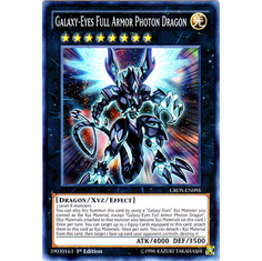 Galaxy-Eyes Full Armor Photon Dragon CROS-EN095 Super Rare - YuGiOh Crossed Souls Card