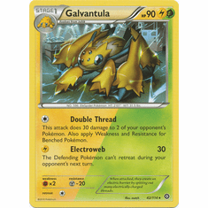 Galvantula 42/114 Rare - Pokemon XY Steam Siege Card