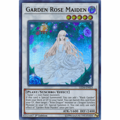 Garden Rose Maiden YuGiOh � Legendary Duelists: Sisters of the Rose Ultra Rare