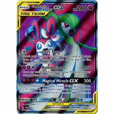 Gardevoir & Sylveon GX - 204/214 - Full Art Ultra Rare
