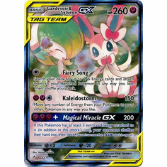 Gardevoir & Sylveon GX - 205/214 - Full Art Ultra Rare