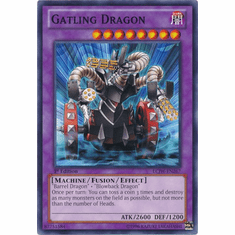 Gatling Dragon LCJW-EN267 - YuGiOh Joey's World Common Card