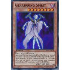 Gearspring Spirit HA07-EN038 - YuGiOh Knight Of Stars Super Rare Card
