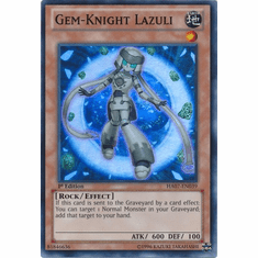 Gem-Knight Lazuli HA07-EN039 - YuGiOh Knight Of Stars Super Rare Card