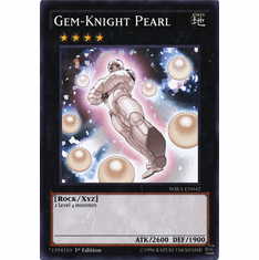 Gem-Knight Pearl WIRA-EN042 Common - YuGiOh Wing Raiders Card