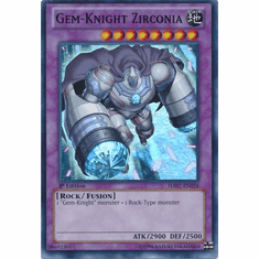 Gem-Knight Zirconia HA07-EN018 - YuGiOh Knight Of Stars Secret Rare Card