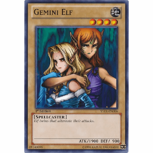 Gemini Elf YSYR-EN006 - YuGiOh Common Card