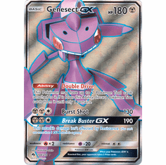 Genesect GX - 204/214 - Full Art Ultra Rare