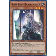 Ghost Belle & Haunted Mansion - DUDE-EN004 - Ultra Rare 1st Edition Duel Devastator 1st Edition Singles