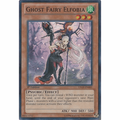 Ghost Fairy Elfobia LTGY-EN085 - Lord Of The Tachyon Galaxy Super Rare