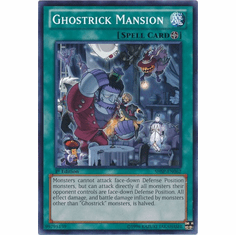 Ghostrick Mansion SHSP-EN062 - YuGiOh Shadow Specters Common Card
