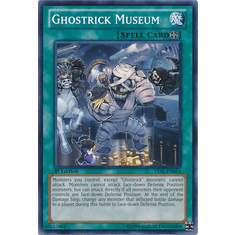 Ghostrick Museum LVAL-EN064 - YuGiOh Legacy Of The Valiant Common Card