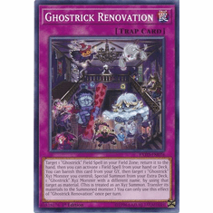 Ghostrick Renovation EXFO-EN074 Common - YuGiOh Extreme Force