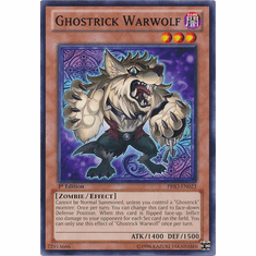 Ghostrick Warwolf PRIO-EN023 - YuGiOh Primal Origin Common Card