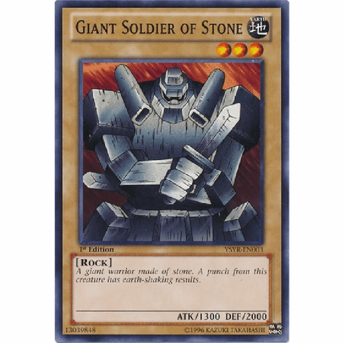 Giant Soldier of Stone YSYR-EN003 - YuGiOh Common Card