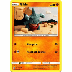 Gible - 112/236 - Common Sun & Moon: Unified Minds