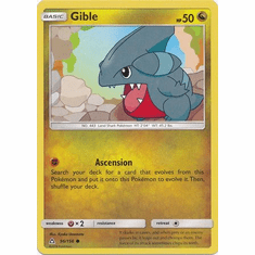 Gible 96/156 Common - Pokemon Ultra Prism