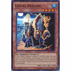 Gishki Shadow THSF-EN042 - YuGiOh The Secret Forces Super Rare Card