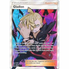 Gladion 109/111 Full Art - Pokemon Crimson Invasion Card