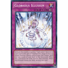 Glorious Illusion SDLI-EN030 - YuGiOh Realm Of Light Common Card