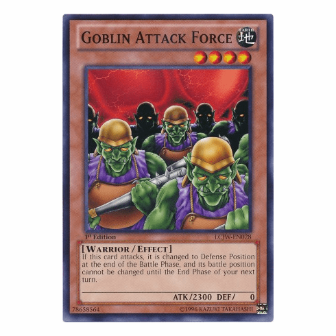Goblin Attack Force LCJW-EN028 - YuGiOh Joey's World Common Card